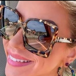 New Leopard Oversized Women Sunglasses